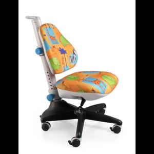Детское кресло Conan GR1 обивка желтая со зверятами