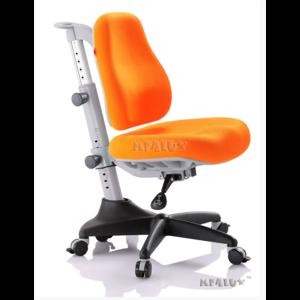 Детское кресло Mealux Match KY обивка оранжевая