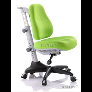Детское кресло Mealux Match KZ обивка зеленая