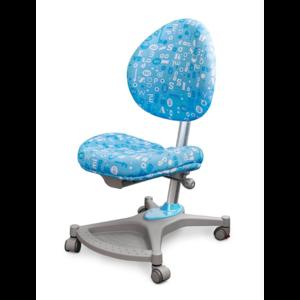Детское кресло Mealux Neapol ABK обивка голубая с буквами