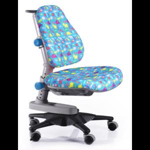 Детское кресло Mealux Newton BN обивка голубая со зверятами