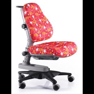 Детское кресло Mealux Newton ST обивка красная со звездочками