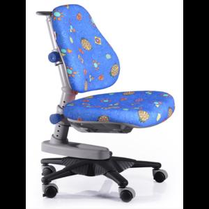 Детское кресло Mealux Newton BB обивка синяя с жучками