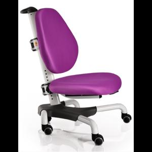 Детское кресло Mealux Nobel Y-517 WKS белый металл / обивка фиолетовая