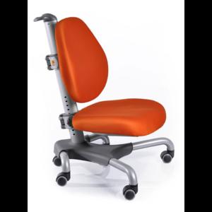Детское кресло Mealux Nobel Y-517 SKY серебристый металл / обивка оранжевая