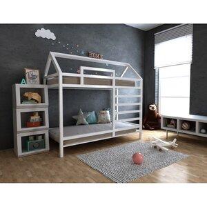 Двухъярусная кровать-домик Джина