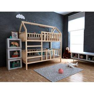 Двухъярусная кровать-домик Молли
