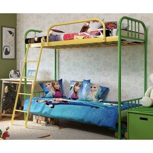 Двухъярусная кровать Бамбо Дуо 60*140 см