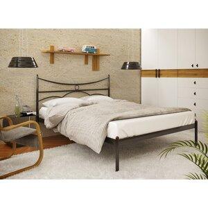 Двуспальная металлическая кровать Барселона-1