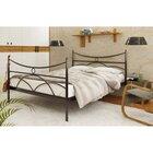 Двуспальная металлическая кровать Барселона-2