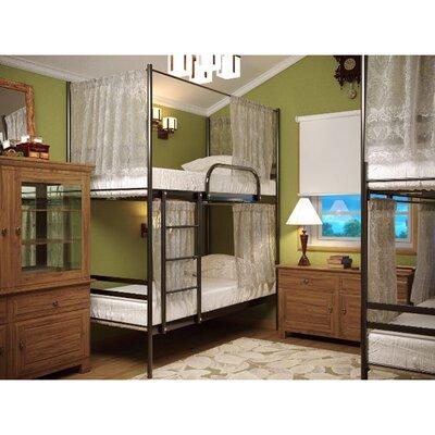 Двухъярусная кровать Шторки Дуо 80*190