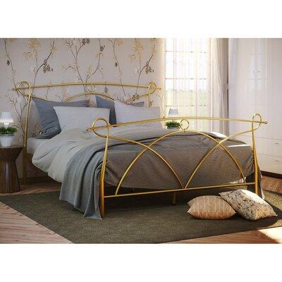 Двуспальная металлическая кровать Флоренция-2 производства Метакам - главное фото