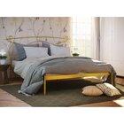 Двуспальная металлическая кровать Флоренция-1