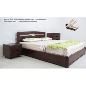 Двуспальная кровать Каролина с подъемным механизмом 140*200 см