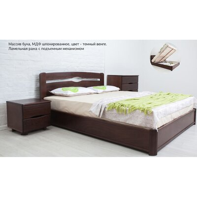 Двуспальная кровать Каролина с подъемным механизмом