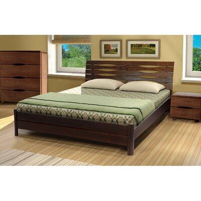 Двуспальная кровать Мария из бука