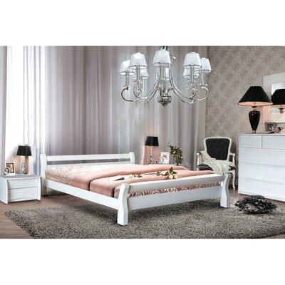 Двуспальная кровать Монреаль белый
