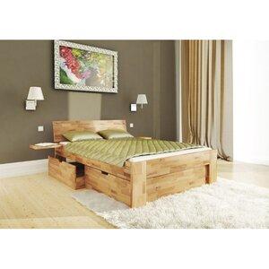 Двуспальная кровать Mobler B111 180x200 см