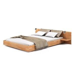 Двуспальная кровать Mobler B120 140x200 см