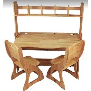 Комплект парта Растишка,стулья и надстройка (ширина 120)