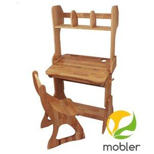 Комплект парта Растишка,стул и надстройка (ширина 70)