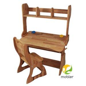 Комплект парта Растишка,стул и надстройка (ширина 90)