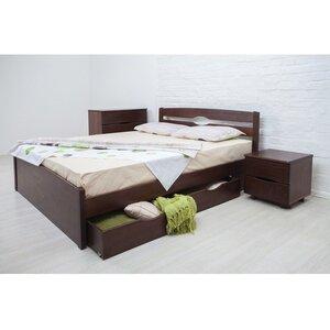 Двуспальная кровать Лика Люкс с ящиками