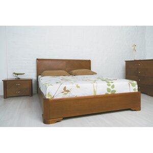 Двуспальная кровать Милена с интарсией