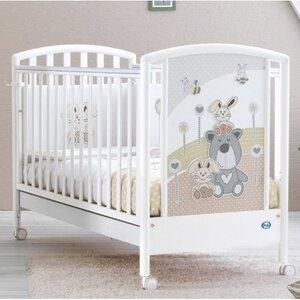 Кроватка Pali Joy белая