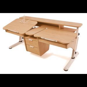 Детский стол Эргономик для двоих детей из ДСП