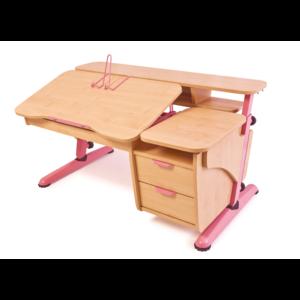 Детский стол Эргономик с тумбой из ДСП