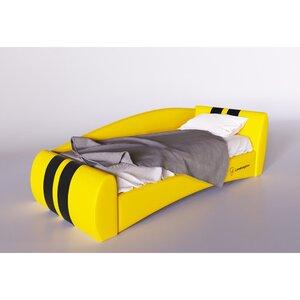 Подростковая кровать Формула желтый