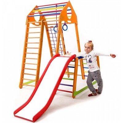 Детский спортивный комплекс BambinoWood Plus 1-1 производства SportBaby - главное фото