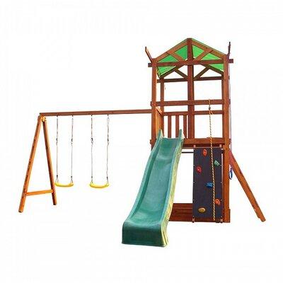 Деревянный игровой комплекс Babyland-3 производства SportBaby - главное фото