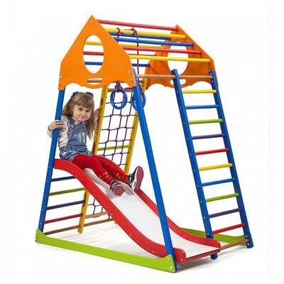 Детский спортивный комплекс KindWood Color Plus 1 производства SportBaby - главное фото
