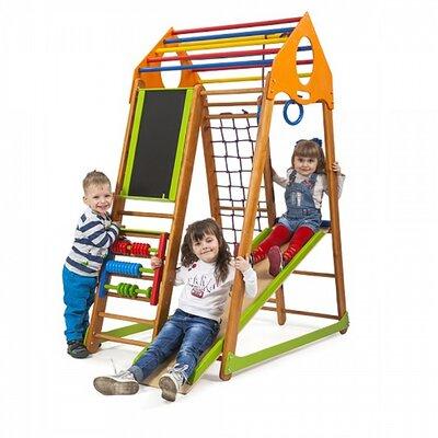 Детский спортивный комплекс BambinoWood Plus производства SportBaby - главное фото