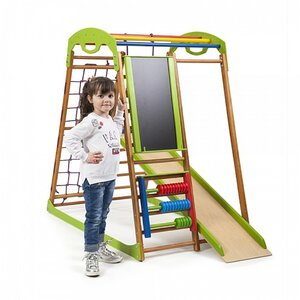 Детский спортивный комплекс для дома BabyWood Plus