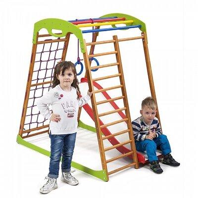 Детский спортивный комплекс для дома BabyWood Plus 1 производства SportBaby - главное фото