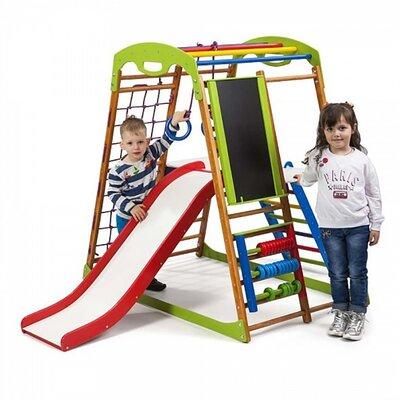 Детский спортивный комплекс для дома BabyWood Plus 3 производства SportBaby - главное фото