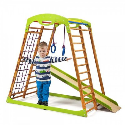 Детский спортивный комплекс для дома BabyWood производства SportBaby - главное фото