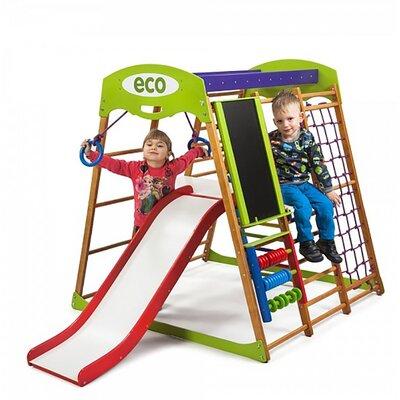Детский спортивный комплекс для квартиры Карамелька Plus 3 производства SportBaby - главное фото
