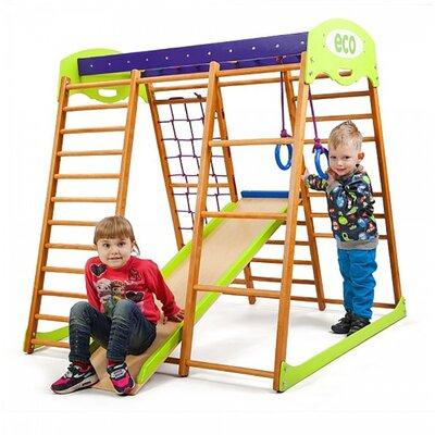 Детский спортивный комплекс для квартиры Карамелька мини производства SportBaby - главное фото