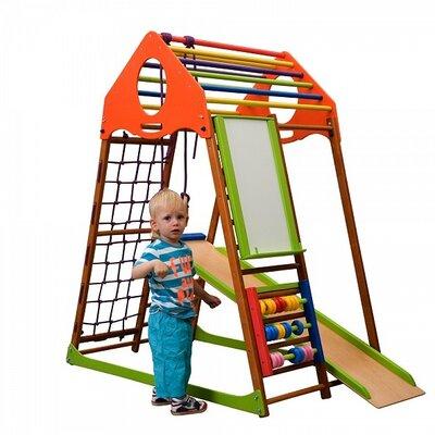 Детский спортивный комплекс для дома KindWood Plus производства SportBaby - главное фото