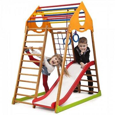 Детский спортивный комплекс для дома KindWood Plus 1 производства SportBaby - главное фото