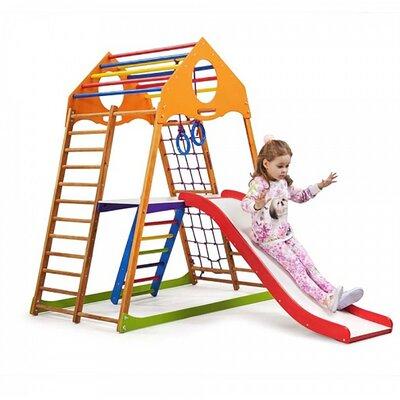 Детский спортивный комплекс для дома KindWood Plus 2 производства SportBaby - главное фото
