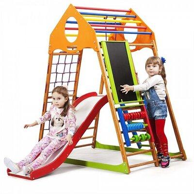 Детский спортивный комплекс для дома KindWood Plus 3 производства SportBaby - главное фото