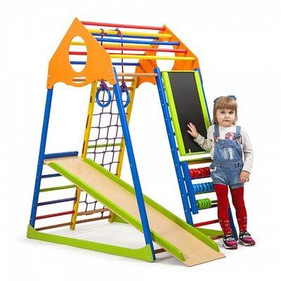 Детский спортивный комплекс KindWood Color Plus производства SportBaby - главное фото