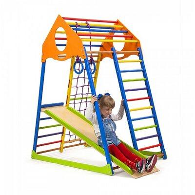Детский спортивный комплекс KindWood Color производства SportBaby - главное фото