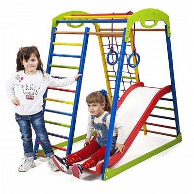Детский спортивный комплекс для дома SportWood Plus 1 производства SportBaby - главное фото