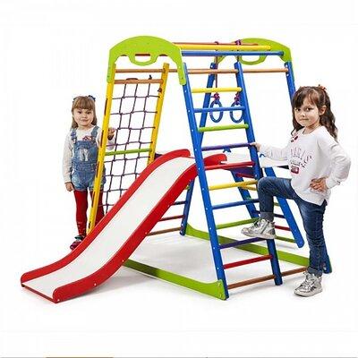 Детский спортивный комплекс для дома SportWood Plus 2 производства SportBaby - главное фото